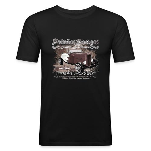 Saludos Amigos - Männer Slim Fit T-Shirt