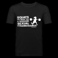 T-Shirts ~ Men's Slim Fit T-Shirt ~ Sexual Tyrannosaurus