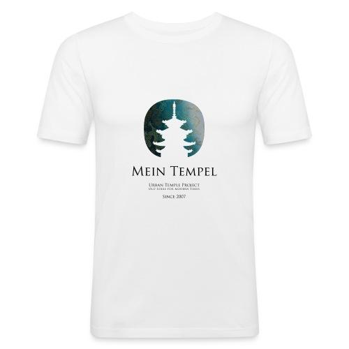 Mein Tempel - Urban Temple Project - Männer Slim Fit T-Shirt