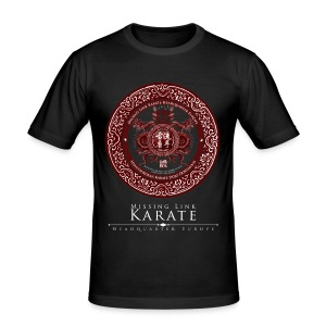Missing Link Karate Shirt - Männer Slim Fit T-Shirt