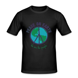 People's Earth - Men (Slim Fit) - Männer Slim Fit T-Shirt