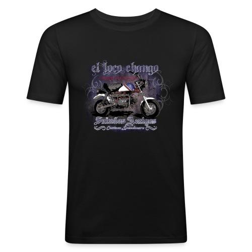 El Loco Chango Monkey - Männer Slim Fit T-Shirt