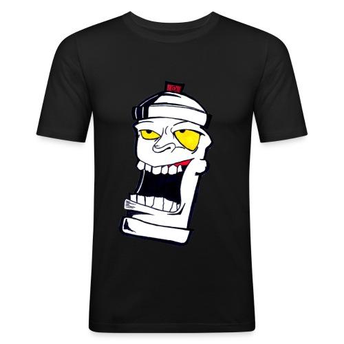 Graffiti SprayCan - Männer Slim Fit T-Shirt