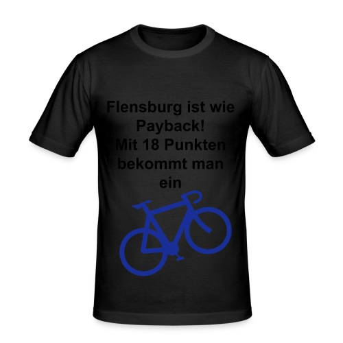 Lustiges T-Shirt - Männer Slim Fit T-Shirt