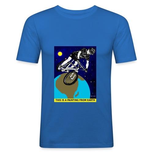 mountainbiker - slim fit T-shirt