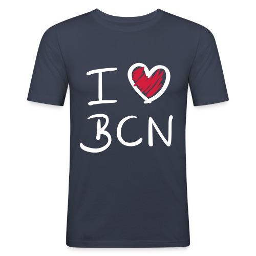 BARCELONA - Men's Slim Fit T-Shirt