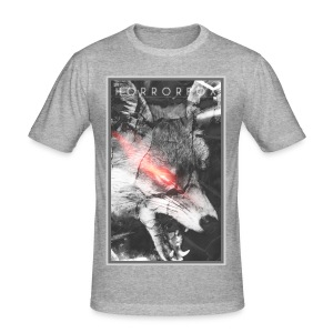 HorrorFox Alternative Men's Tee - Men's Slim Fit T-Shirt