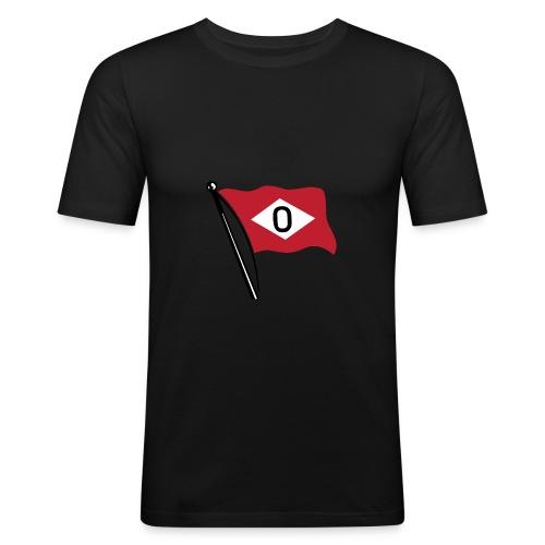 Slim-fit t-skjorte med ODS-flagg - Slim Fit T-skjorte for menn