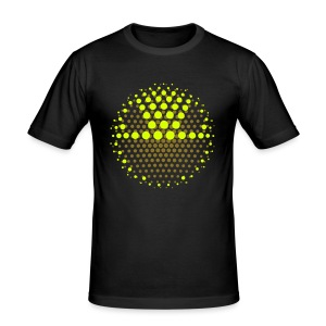 DISCO INFERNO SMILEY III - Männer Slim Fit T-Shirt