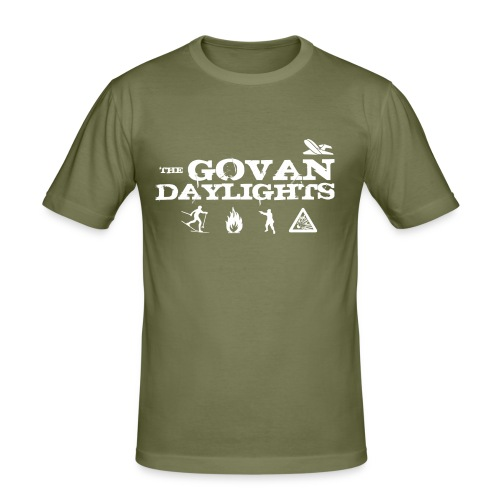 The Govan Daylights - Men's Slim Fit T-Shirt