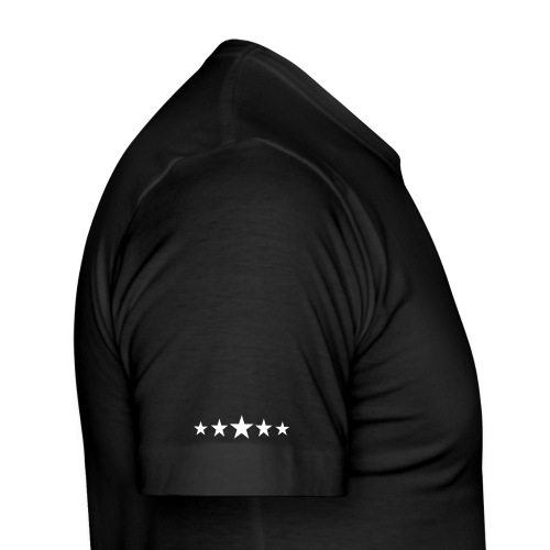 Black British Print T-Shirt - Men's Slim Fit T-Shirt