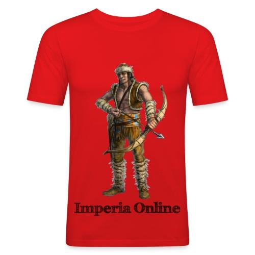 N. H. A. L/Brown T-Shirt - Men's Slim Fit T-Shirt