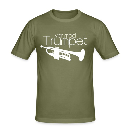 Yer Mad Trumpet - Men's Slim Fit T-Shirt
