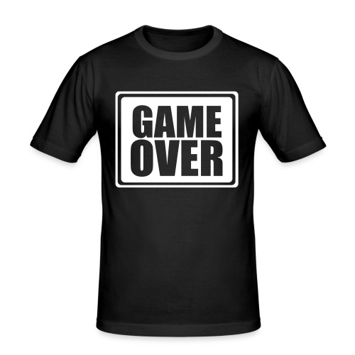 Game Over - T-shirt près du corps Homme