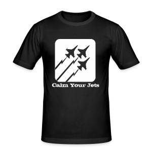 Calm Your Jets - Men's Slim Fit T-Shirt