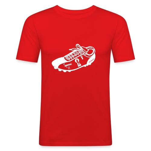 Scarpa da calcio autografata da Speroni (SCRITTA BIANCA - MAGLIETTA TUTTI I COLORI) - Maglietta aderente da uomo