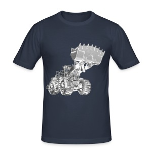 Old Mining Wheel Loader - Men's Slim Fit T-Shirt