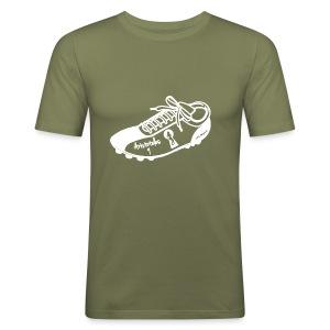 Scarpa da calcio autografata da Aristoteles (SCRITTA BIANCA - MAGLIETTA TUTTI I COLORI) - Maglietta aderente da uomo