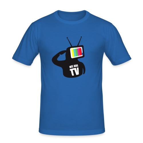 T-Shirt Col rond We are TV - T-shirt près du corps Homme