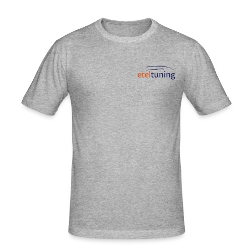 Etel-Tuning T-Shirt Slim Fit Grau - Männer Slim Fit T-Shirt