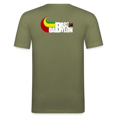 Bass Babylon Bierwampen spezial - Männer Slim Fit T-Shirt