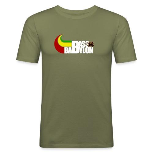 Bass Babylon shirt 2 - Männer Slim Fit T-Shirt