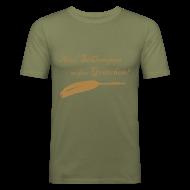 T-Shirts ~ Männer Slim Fit T-Shirt ~ Herren-Shirt Slim
