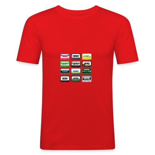 Homme tee shirt pres du corps Gazoon rouge - T-shirt près du corps Homme