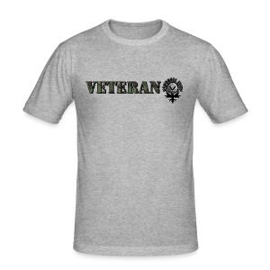 VETERAN HANDBALL ELITE - Männer Slim Fit T-Shirt
