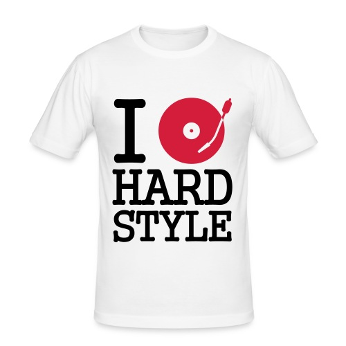 Turntable HardStyle Slim - slim fit T-shirt