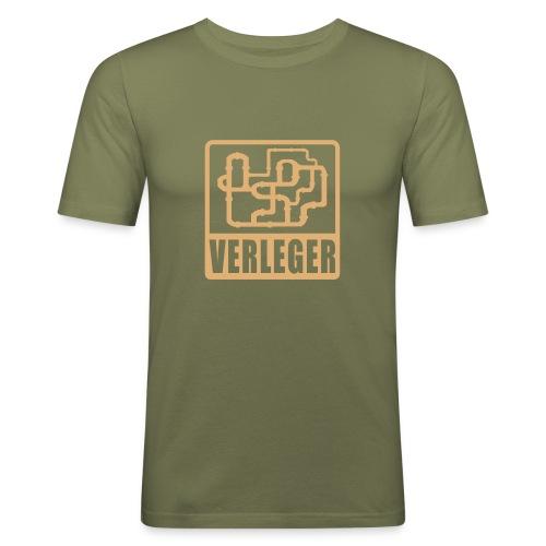 Shirt Rohrverleger - Männer Slim Fit T-Shirt