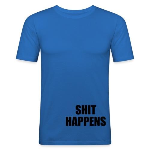 Shit Happens - Slim Fit T-shirt herr