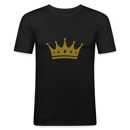 King  - Männer Slim Fit T-Shirt