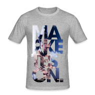 T-Shirts ~ Men's Slim Fit T-Shirt ~ LTD Edition Slim Fit Tourwear - LA '12