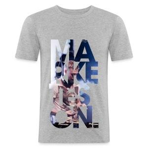 LTD Edition Slim Fit Tourwear - LA '12 - Men's Slim Fit T-Shirt