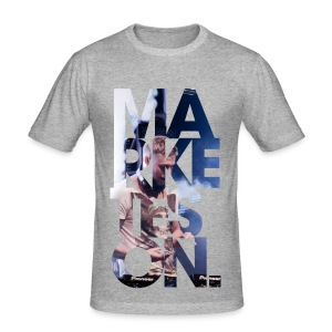 LTD Edition Slim Fit Tourwear - LA '12 - Men's Slim Fit T-Shirt