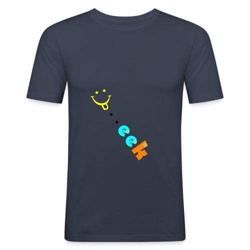 Smiley geek - Men's Slim Fit T-Shirt