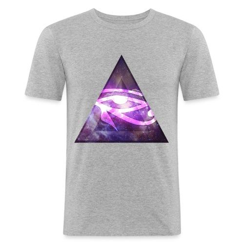 EGYPT EYE - Männer Slim Fit T-Shirt