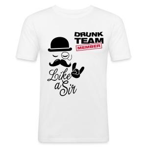 Drunk Team - Men's Slim Fit T-Shirt