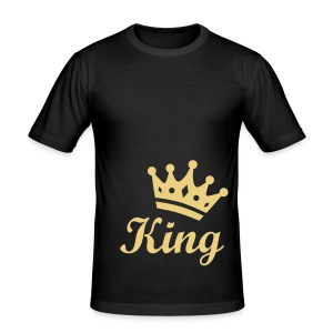 King - Männer Slim Fit T-Shirt