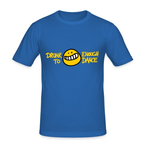 Drunk Enough - Männer Slim Fit T-Shirt