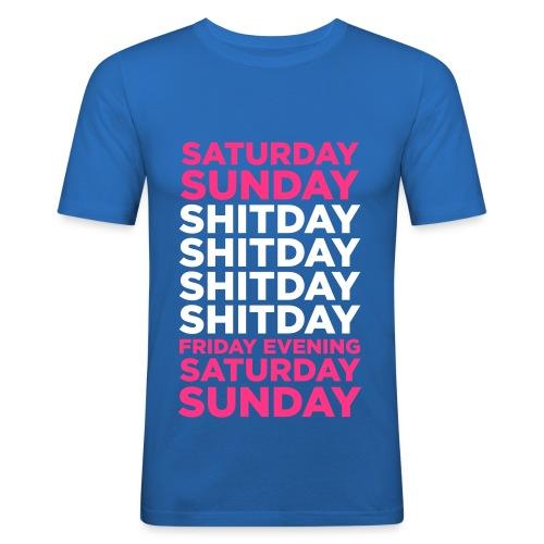 I love weekend ! By D.B.Z  - T-shirt près du corps Homme