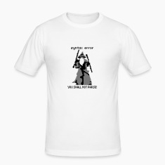 YOU SHALL NOT PARSE Tee shirts