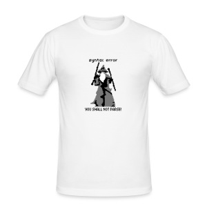 YOU SHALL NOT PARSE T-Shirts - Men's Slim Fit T-Shirt