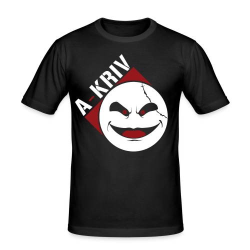 A-Kriv 03 - Maglietta aderente da uomo