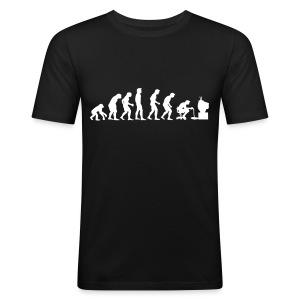 Gamer Evolution - Men's Slim Fit T-Shirt