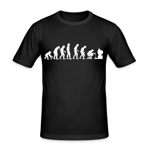 Gamer Evolution - Men's Slim Fit T-Shirt