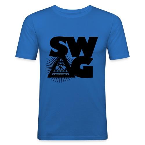 Illuminati. - Men's Slim Fit T-Shirt