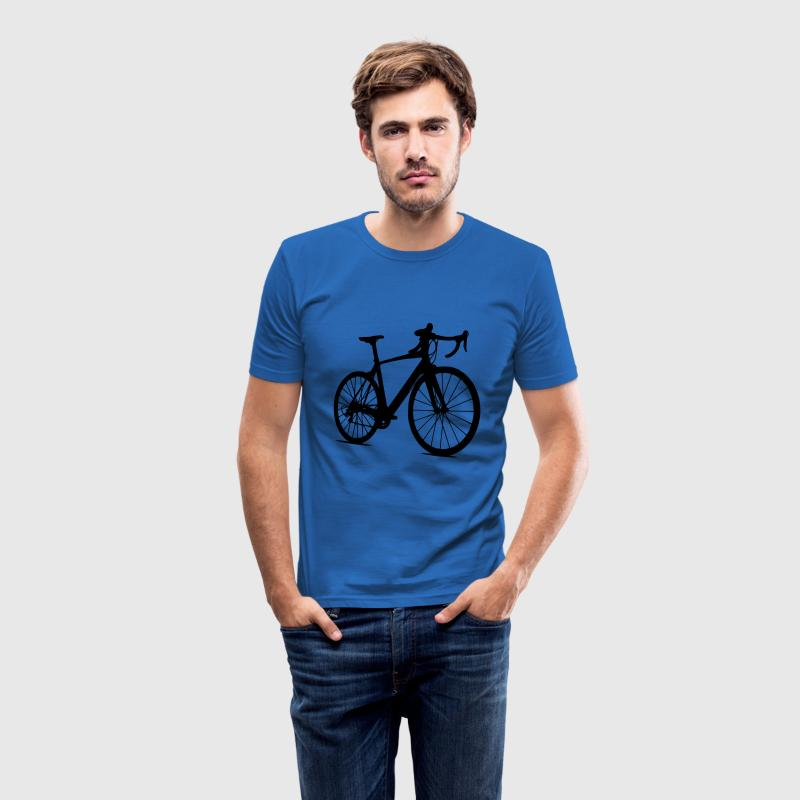 rennrad T-Shirts - Männer Slim Fit T-Shirt