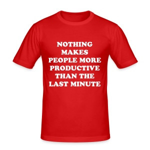 Fact to live by - Men's Slim Fit T-Shirt